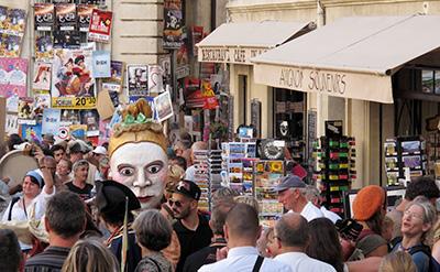 Affiches du festival Off d'Avignon